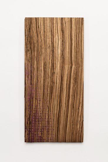 <em>Kiyoshi Yamamoto</em>, silketrykk og folie på tre, 2010. Photographer: Vegard Kleven