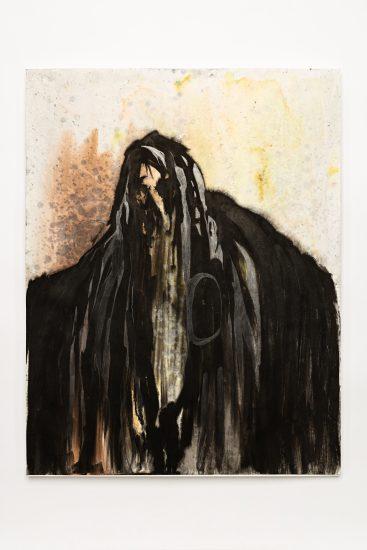 <em>Monica Winther</em>, blekk og maling på papir, 2014. Photographer: Vegard Kleven