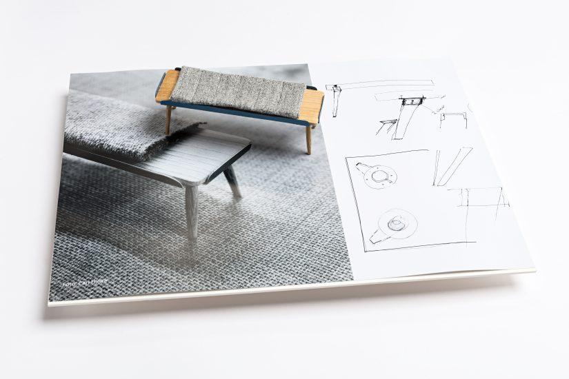 <em>Tuva Rivedal Tjugen</em>, foto og håndskisse på papir, tre og tekstil, 2015. Photographer: Vegard Kleven