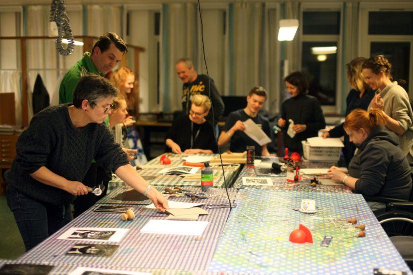 <em>Workshop</em>, med Mattias Harenstam. Fotograf: Eirin Støen