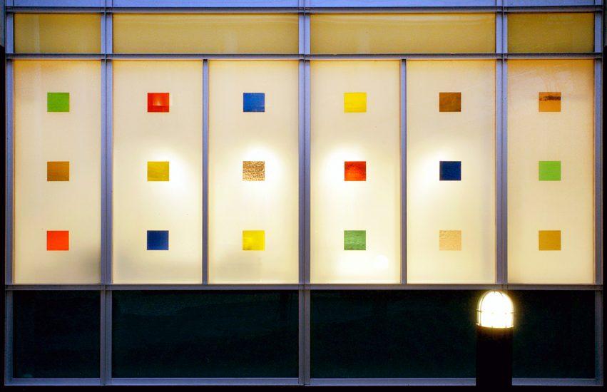 <em>(komposisjon med 6 farger)</em>, Arne H. Malmedal. Fotograf: Jaro Hollan
