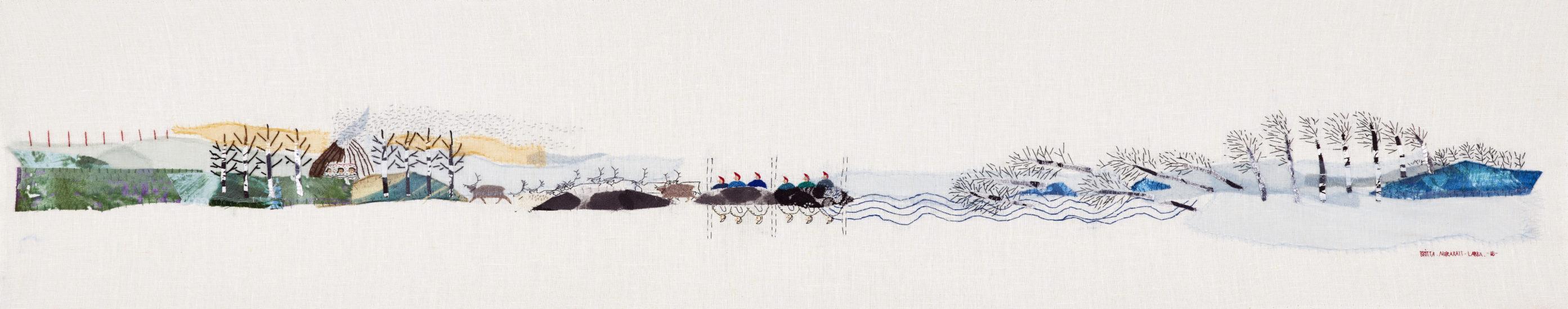<em>Klimat endring</em>, Britta Marakatt-Labba. Fotograf: Britta Marakatt-Labba