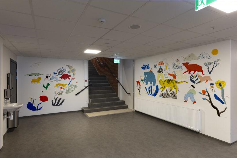 <em>Alfabetisk reisefølge i fri rekkefølge</em>, Mari Kanstad Johnsen. Fotograf: Werner Zellien