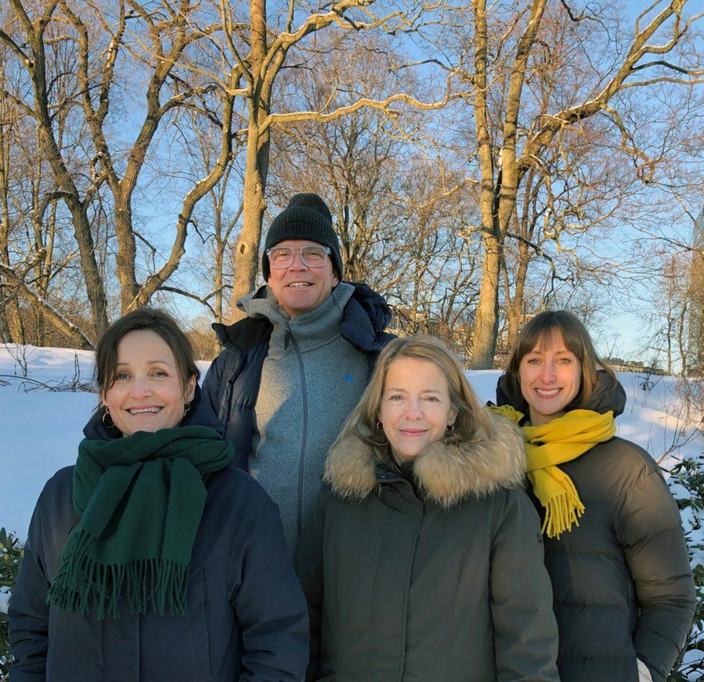 Elisabeth Byre, Bo Krister Wallström, Elisabeth Tetens Jahn og Marte Danielsen Jølbo - KORO