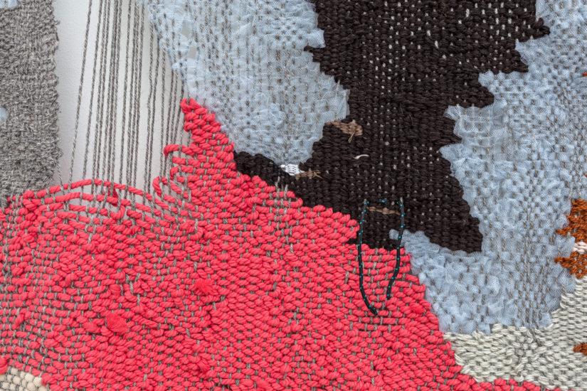 <em>Untitled (Diptych), detalj</em>, Ann Cathrin November Høibo. Fotograf: Vegard Kleven