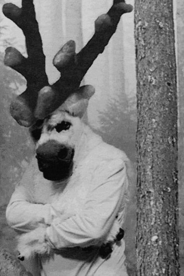<em>The Fable of the Wolf, the Polar Bear, the Reindeer and the Cosmonaut, detalj</em>, Goskha Macuga. Fotograf: Jessica Harrington