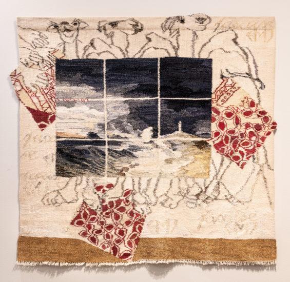 <em>Dromedarene og tekstilkunsten</em>, Else Marie Jakobsen. Fotograf: Niklas Hart
