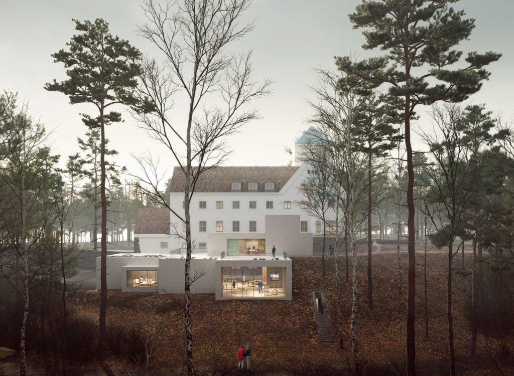 <em>Tilbygg til HL-senteret, Villa Grande</em>, . Fotograf: Transborder Studio AS