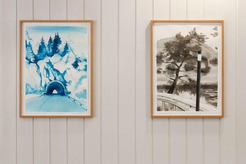 <em>Tre og brøytestikke</em>, Lars Korff Lofthus. Photographer: Randi Thommesen