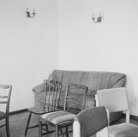 <em>The ideal state (Communal dining room)</em>, Una Hunderi. Photographer: Una Hunderi