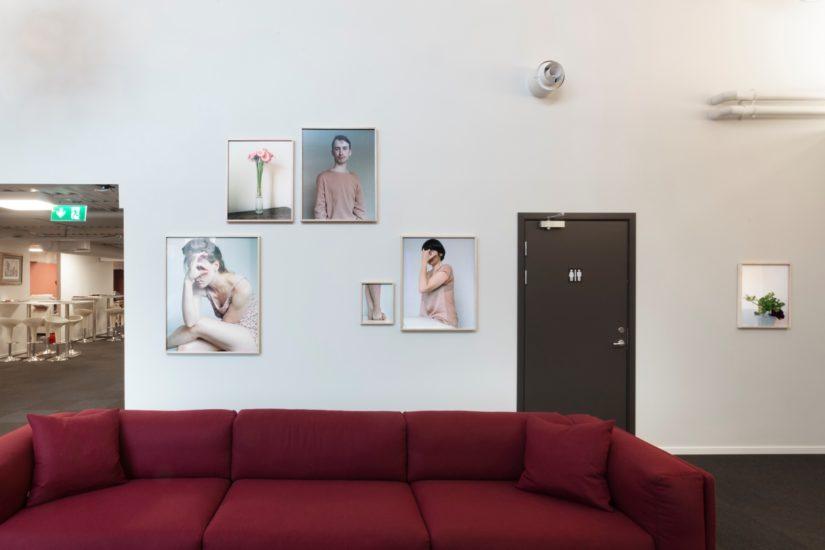 <em>Oversikt over foajeen</em>, Ingrid Eggen. Photographer: Werner Zellien