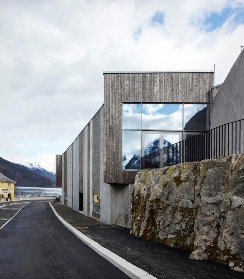<em>Norsk reiselivsmuseum</em>, Sogn og Fjordane. Fotograf: Statsbygg