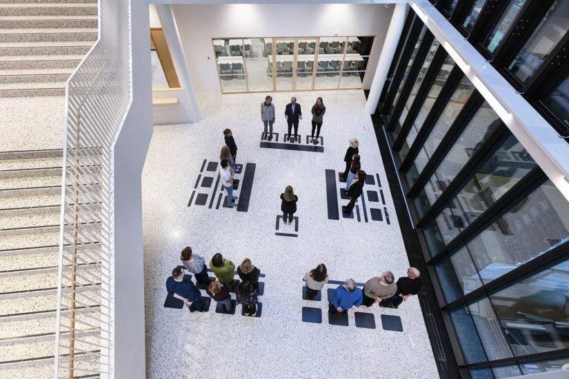 <em>Rettstegning</em>, Lotte Konow Lund. Fotograf: Werner Zellien