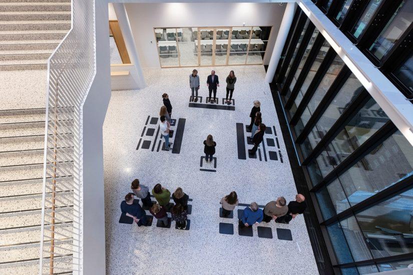 <em>Rettstegning</em>, Lotte Konow Lund. Photographer: Werner Zellien