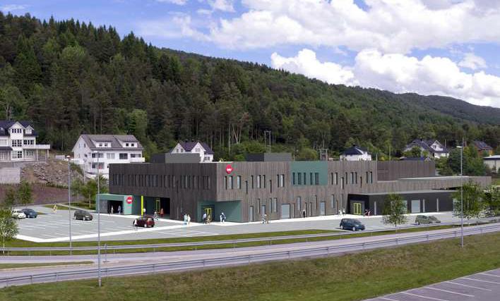 <em>NAV Hjelpemiddelsentral Møre og Romsdal</em>, Ålesund. Fotograf: Margarida Pais Arkitektur