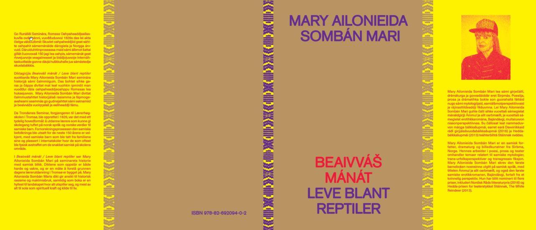<em>Diktsamling, Beaivvás Mánát / Leve blant reptiler</em>, Mary Ailionieida Sombán Mari. Fotograf: Printscreen