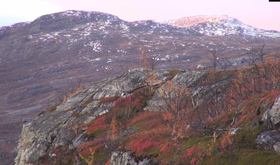 <em>Joiken til Institutt for lærerutdanning og pedagogikk (ILP) ved Universitetet i Tromsø</em>, Mary Ailionieida Sombán Mari. Fotograf: Stillbilde