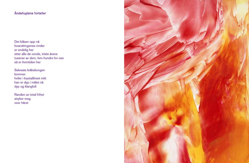 <em>Utdrag fra diktsamlingen</em>, Mary Ailionieida Sombán Mari. Photographer: Printscreen