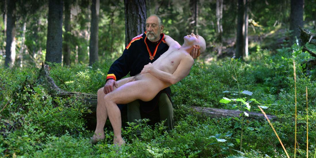 <em>Biru Bonju - Fucking Gay - Jævla homo</em>, Gjert Rognli. Fotograf: Gjert Rognli