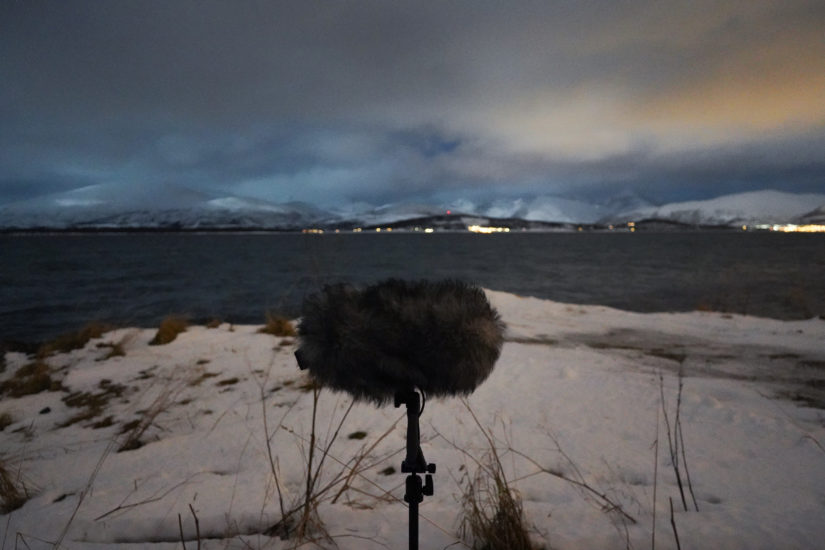<em>Lydopptak, Tromsø Sonarium - 69°39'07'N 018°57'12'Ø</em>, Alexander Rishaug. Fotograf: Alexander Rishaug