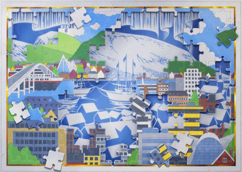 <em>Chronicle X (Tromsø)</em>, Bjøn Båsen. Fotograf: Ingun A. Mæhlum