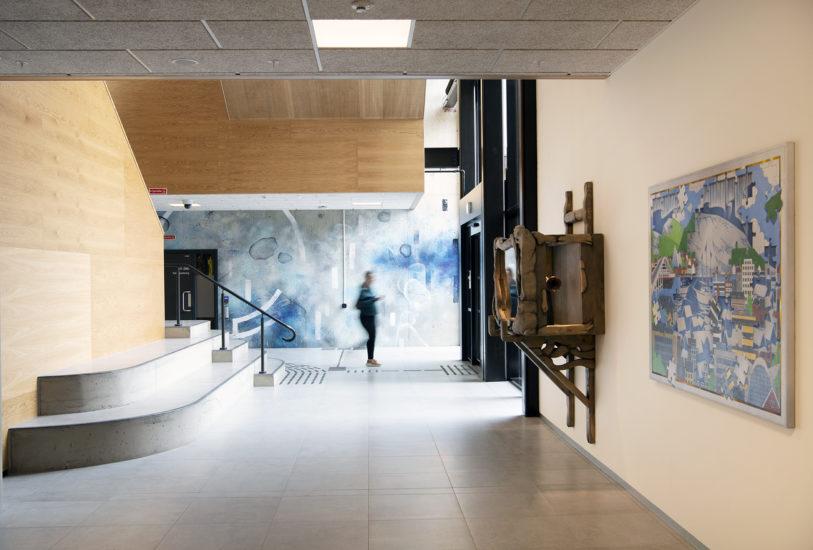 <em>Arctic Cabinet, Chronicle X, Store Norske og veggmaleri</em>, Bjørn Båsen, Lars Korff Lofthus, Tegson. Fotograf: Ingun A. Mæhlum