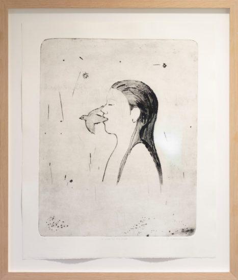 <em>Minner (Å viske til en fugl)</em>, Elisabeth Mathisen. Fotograf: Werner Zellien