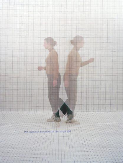 <em>The opposite directions of one single girl</em>, Else Marie Hagen. Fotograf: Else Marie Hagen