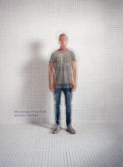 <em>The average of four boys and their shadows</em>, Else Marie Hagen. Photographer: Else Marie Hagen