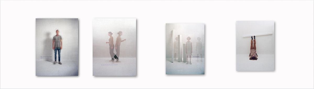 <em>The opposite directions of one single girl</em>, Else Marie Hagen. Photographer: Else Marie Hagen