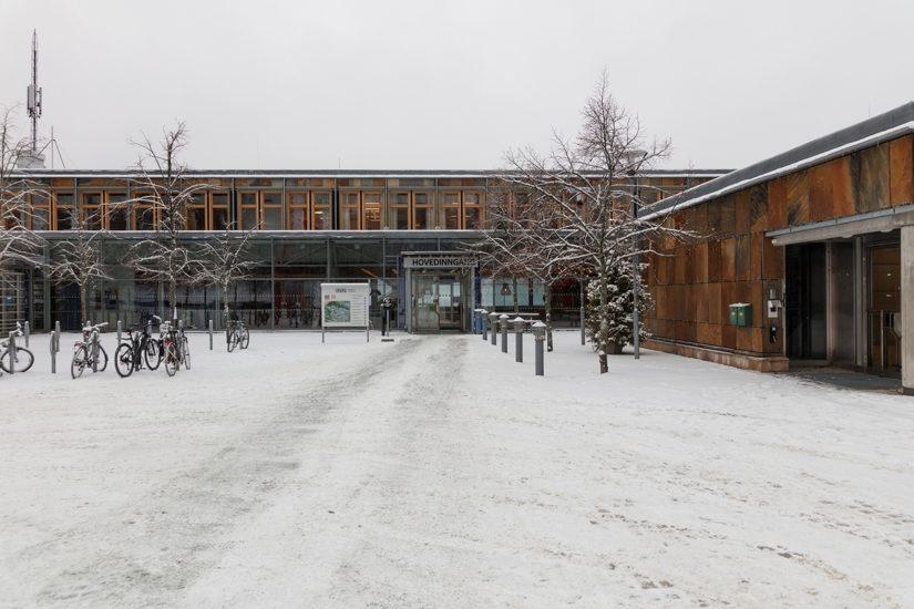<em>INN Høgskolen i Innlandet</em>, Lillehammer. Fotograf: Werner Zellien