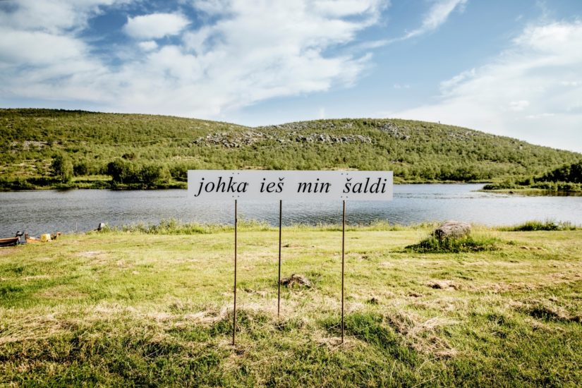 <em>Rájácummá / Kiss from the Border (johka ieš min šaldi)</em>, Outi Pieski, Jenni Laiti, Niillas Holmberg. Photographer: Outi Pieski