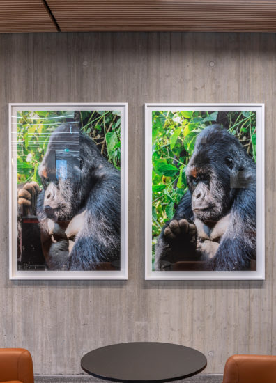 <em>Humans, On the Other Hand, Lied Easily and Often (2)</em>, Sandra Mujinga. Photographer: Øystein Thorvaldsen