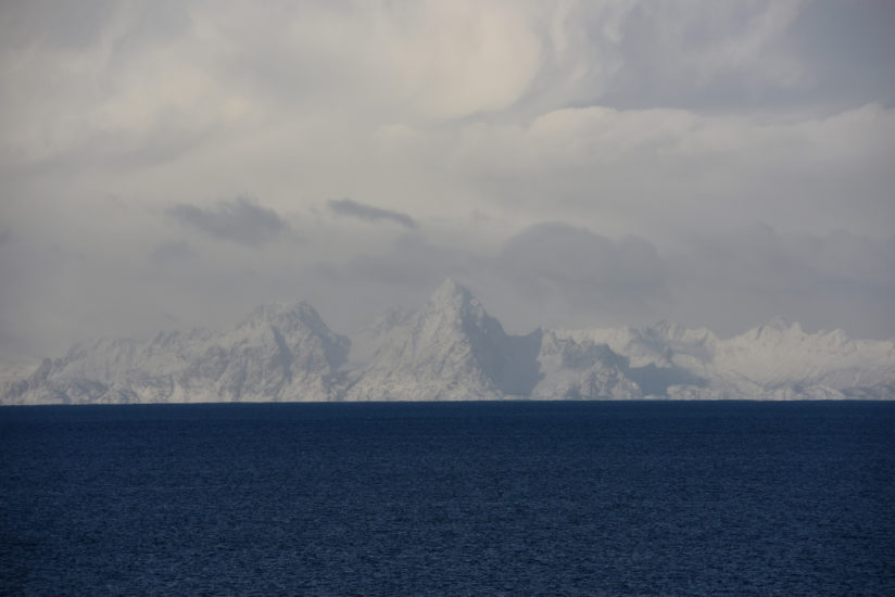<em>Lofoten er vakrest fra Engeløya</em>, Rune Johansen. Fotograf: Rune Johansen